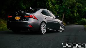 lexus is jdm lexus is350 f sport velgen wheels vmb7 matte silver 20x9