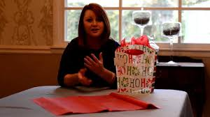 how to use tissue paper in a gift box gift wrapping ideas how to use a gift bag tissue paper