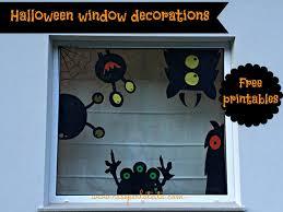 Lighted Halloween Window Decorations Halloween Window Decorations Thraam Com