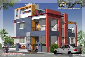 Duplex Plan Duplex House Plan And Elevation 2349 Sq Ft Home Appliance