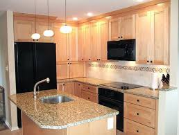 kitchen ideas with maple cabinets the solera small kitchen remodeling ideas sunnyvale maple