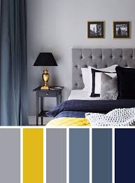 yellow color schemes navy blue gray and yellow bedroom color ideas color schemes