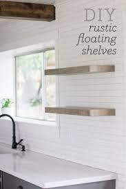 Open Shelves Kitchen 20 Diy Floating Shelves Shelves Kitchens And Walls