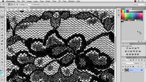 pattern drawing illustrator illustrator cc lace pattern brush part 1 youtube