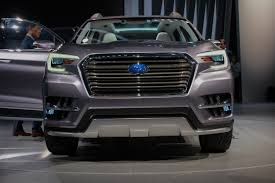 subaru exiga crossover 7 subaru ascent concept previews brand u0027s next 3 row crossover