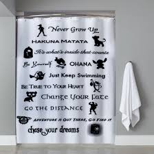 cheap disney lessons learned mash up shower curtain cheap and best