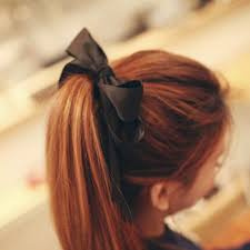 hair bow tie online shop korean jewelry hair for women new satin