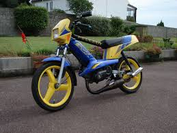 peugeot yellow garage build blue and yellow