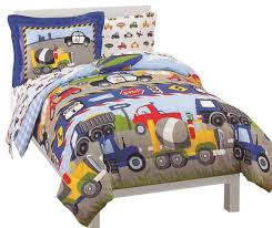 Twin Comforter Trucks Tractors Cars Twin Comforter Set Traditional Kids