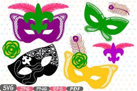 mardi gras masquerade props mask mardi gras masquerade party design bundles