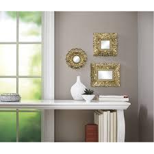 Decorative Mirrors Walmart Cozy Decorative Wall Mirror Sets Full Image For Sets Design Decor