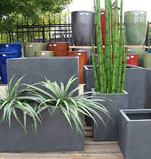 outdoor planters garden statues fountains and ceramic pots