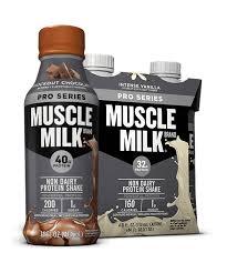 100 calorie muscle milk light vanilla crème muscle milk pro series protein shake muscle milk