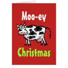 cow greeting cards christmas cows cards photocards invitations more