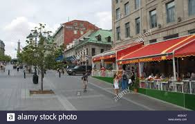 canada quebec montreal vieux montreal place jacques cartier young