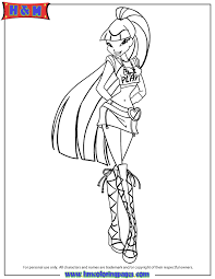 Winx Fairy Of Magic Musa Coloring Page H M Coloring Pages Winx Club Musa Coloring Pages