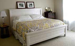 Enchanting Headboard King Bed Ana White Cassidy Bed King Diy by Creative Of Farmhouse Queen Bed Plans And Ana White Farmhouse King