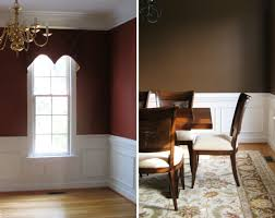 dining room dining room paint colors dark wood trim amazing