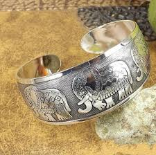 jewelry party favors dhl women elephant wide cuff ethnic opening tibetan silver