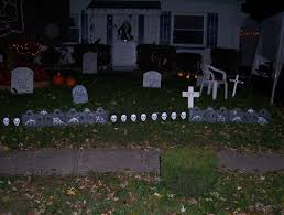 halloween 2004 and 2005 sandric cemetery halloween home yard
