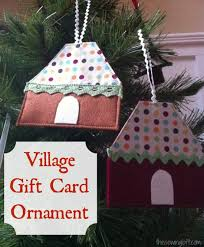 gift card holder easy ornament