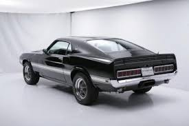 Black 1969 Mustang Fastback Shelby Mustang Gt500 Fastback