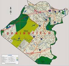 springfield map springfield jersey map montana map