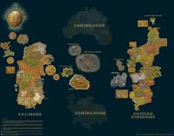 kalimdor map project guide the explorer s map a customised map for explorers