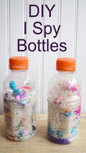 diy i spy bottles pa country crafts
