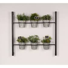 hanging indoor herb garden design decoration