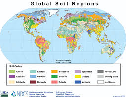Esri Shapefile World Map by Global Soil Regions Map Nrcs Soils