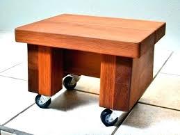 Ottoman Plans Wooden Footstool Wooden Ottoman Plans Abundantlifestyle Club