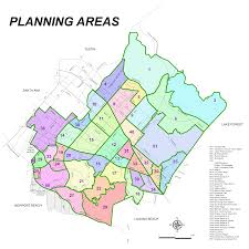 San Diego County Zoning Map by Map Irvine California California Map