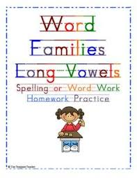 word family worksheets google search kids activities learning