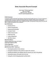 Sales Associate Sample Resume by Accounts Receivable Supervisor Resume Samples Resume Example