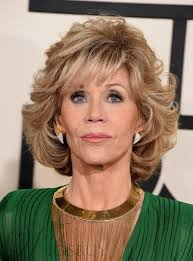 are jane fonda hairstyles wigs or her own hair fashion jane fonda style medium loose wave layered synthetic hair