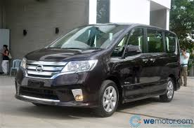 nissan malaysia etcm claims first hybrid mpv in malaysia the 2013 nissan serena