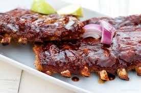 baked apple pork ribs the best version