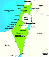 Dead Sea Map Exploring Palestine Passport Magazine