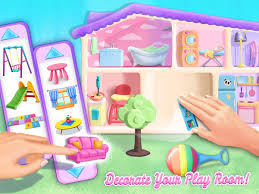 girls dollhouse bed sweet baby doll house play care u0026 bed time android apps