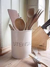 pot ustensiles cuisine prix pot à ustensiles de cuisine relief ii 17cm noir amazon