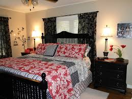 red and white bedroom black and red master bedroom interior design