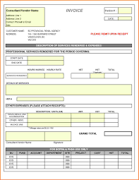 Service Invoice Template Excel 7 Consulting Service Invoice Template Invoice Template