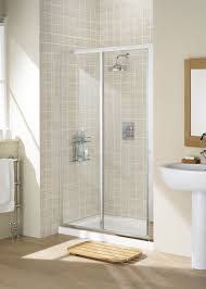 1200mm Shower Door by Lakes Classic Framed 1200mm Sliding Shower Door Silver Frame Clear