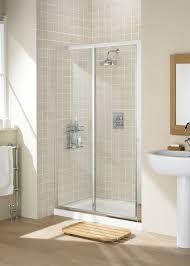 Sliding Shower Door 1200 Lakes Classic Framed 1200mm Sliding Shower Door Silver Frame Clear