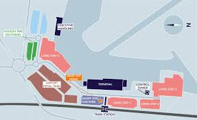 London Airports Map Parking