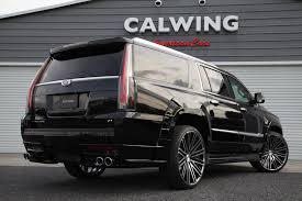 cadillac escalade 2017 custom cadillac escalade gets calwing body kit from japan and forgiato