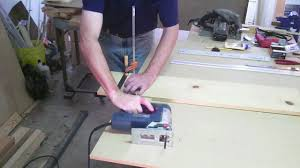 how to cut a straight line with a jigsaw youtube