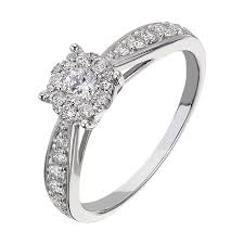 ring engagement free rings cluster of diamonds engagement ring cluster