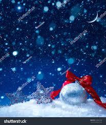 snow christmas magic lights background stock photo 120901336